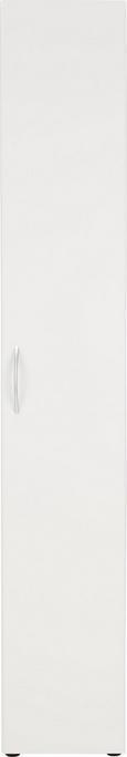 Mehrzweckschrank in Weiß - Weiß, Holzwerkstoff/Kunststoff (30/185/40cm) - MÖMAX modern living