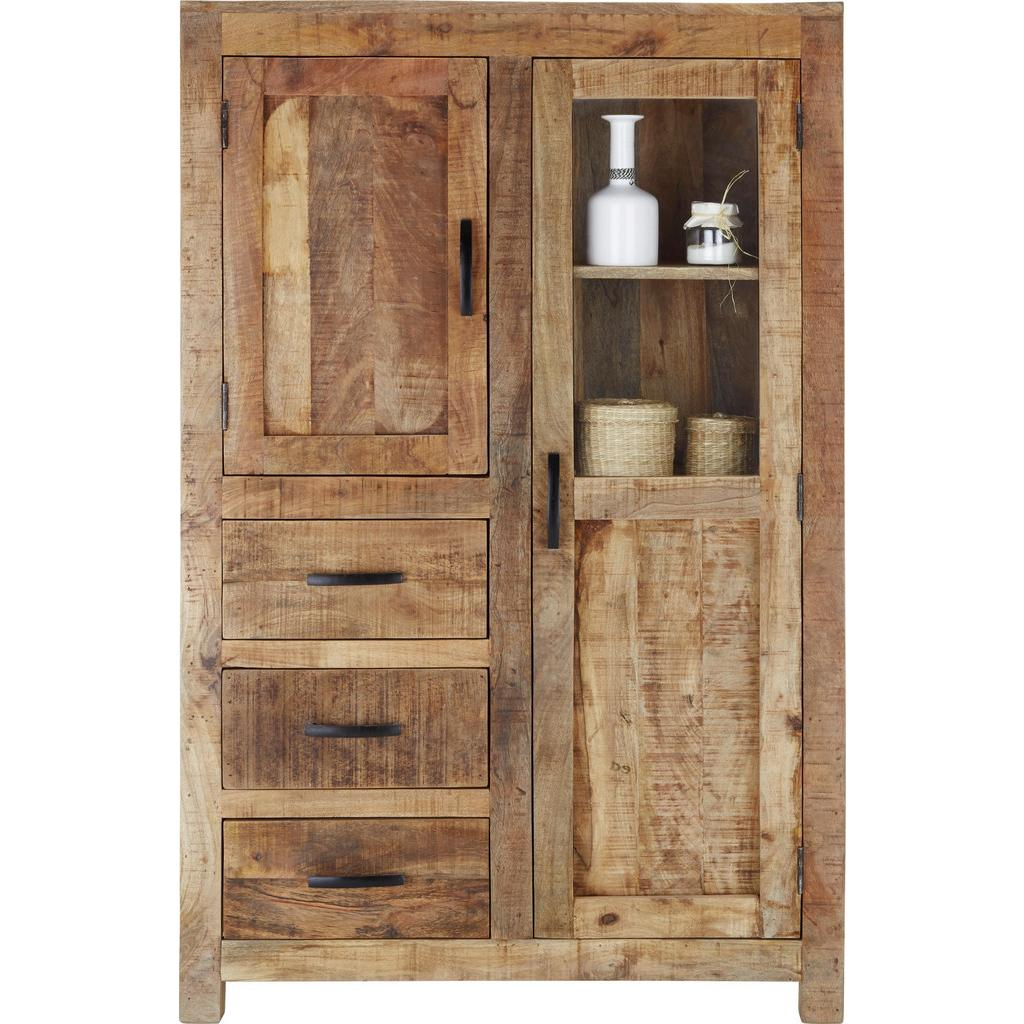 Highboard Braun Mangoholz