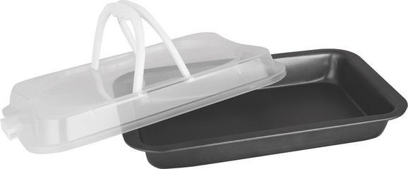 Posoda Za Shranjevanje Greta - črna/bela, kovina/umetna masa (36/23/7cm) - Mömax modern living