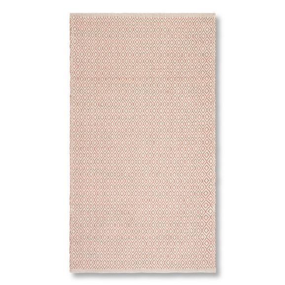 Kézi Szövésű Szőnyeg Carola 80/150 - Rózsaszín, Basics, Textil (80/150cm) - Mömax modern living