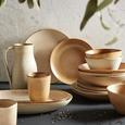 Platzteller Sahara aus Keramik in Braun - Braun, LIFESTYLE, Keramik (29,5/18/3,5cm) - Zandiara