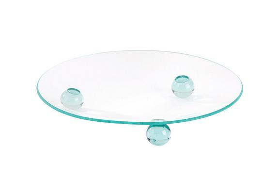 Kerzenteller Nina - Klar, Glas (12cm) - Mömax modern living