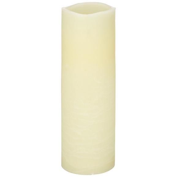 Sveča Z Led-diodo Rene - bela, umetna masa (10/30cm) - Mömax modern living