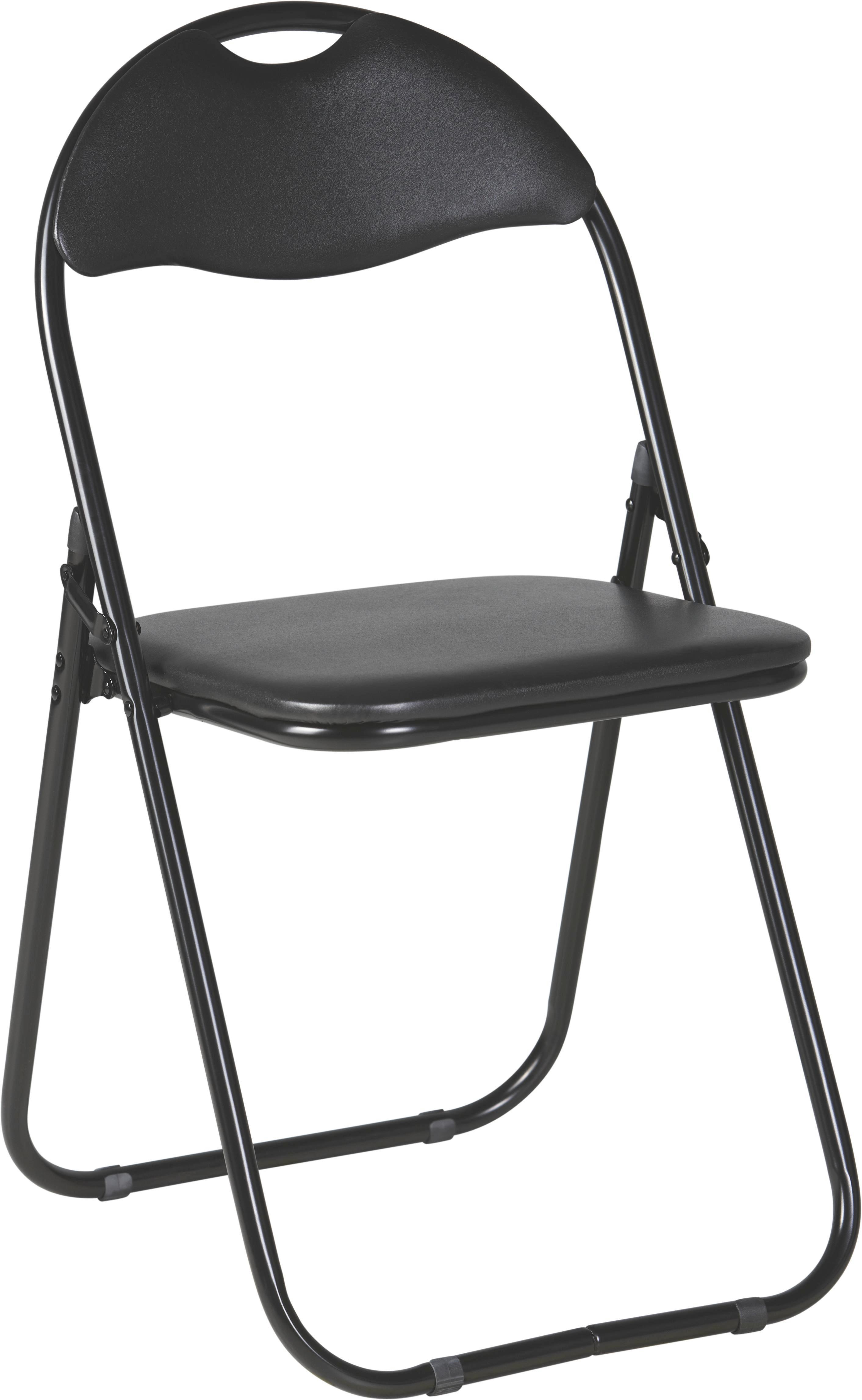 Zložljiv Stol Shake - črna, kovina/tekstil (44/80/47cm) - MÖMAX modern living