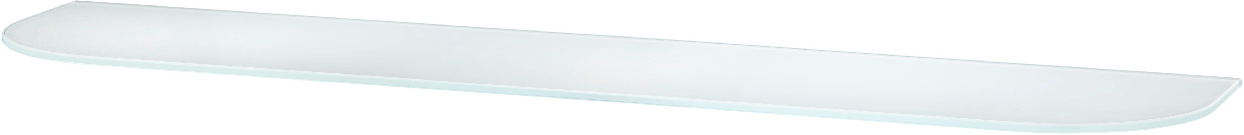 Falipolc Glas - opál, üveg (78/0,6/18cm)