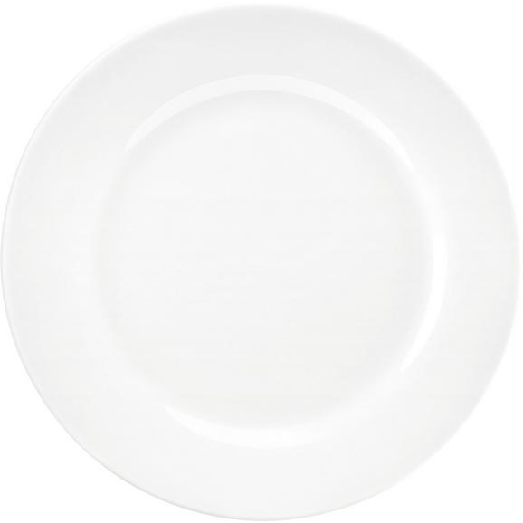 Farfurie Pentru Desert Adria - alb, Konventionell, ceramică (19cm) - Modern Living