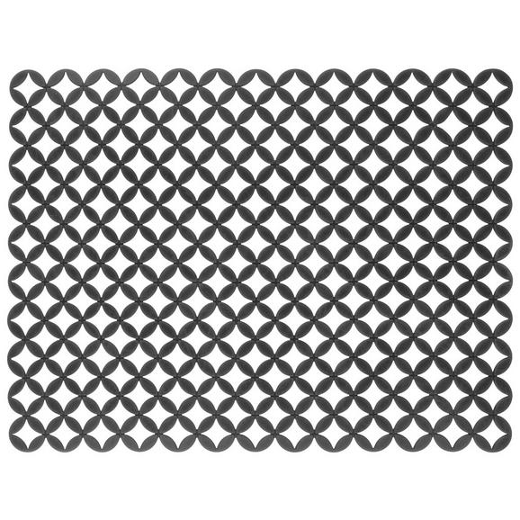 Spülbeckeneinlage Ute Grau - Grau, MODERN, Kunststoff (41/32/0,025cm) - Premium Living