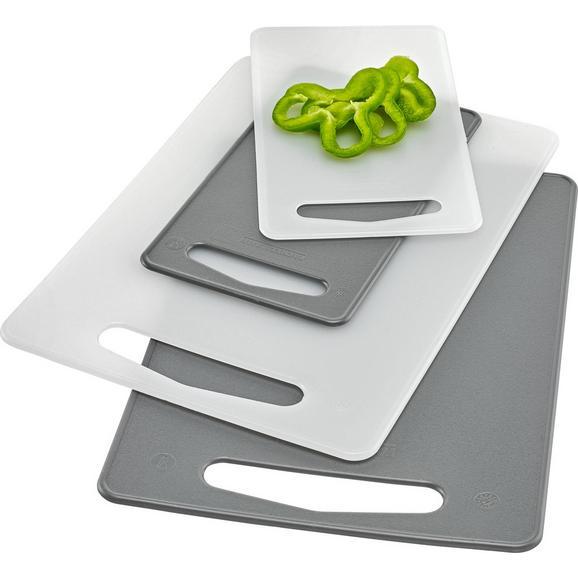 Deska Za Rezanje Petra - rdeča/siva, umetna masa (34/24/0,9cm) - Mömax modern living