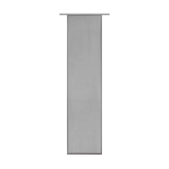 Panelna Zavesa Vicky - siva, tekstil (60/245cm) - Modern Living