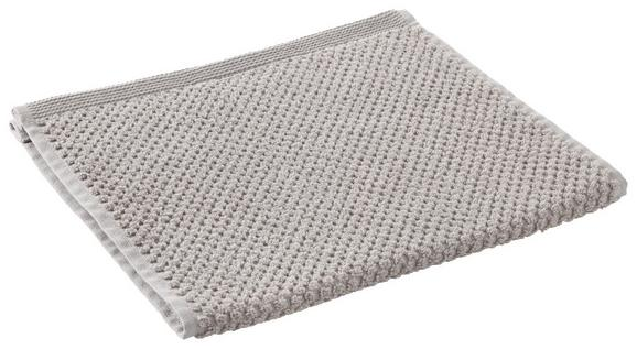 Gästetuch Juliane Taupe - Taupe, Textil (30/50cm) - Premium Living