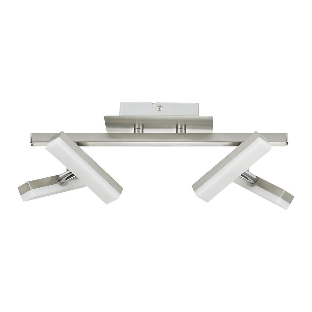 LED-Strahler Rico in Silber 4-flammig