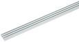 Vorhangschiene Style Weiß - Weiß, Metall (210cm) - Premium Living