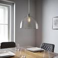 Pendelleuchte Silvana - MODERN, Glas/Metall (30/120cm) - Modern Living