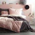 Lenjerie De Pat Belinda - gri deschis/roz, textil (140/200cm) - Premium Living