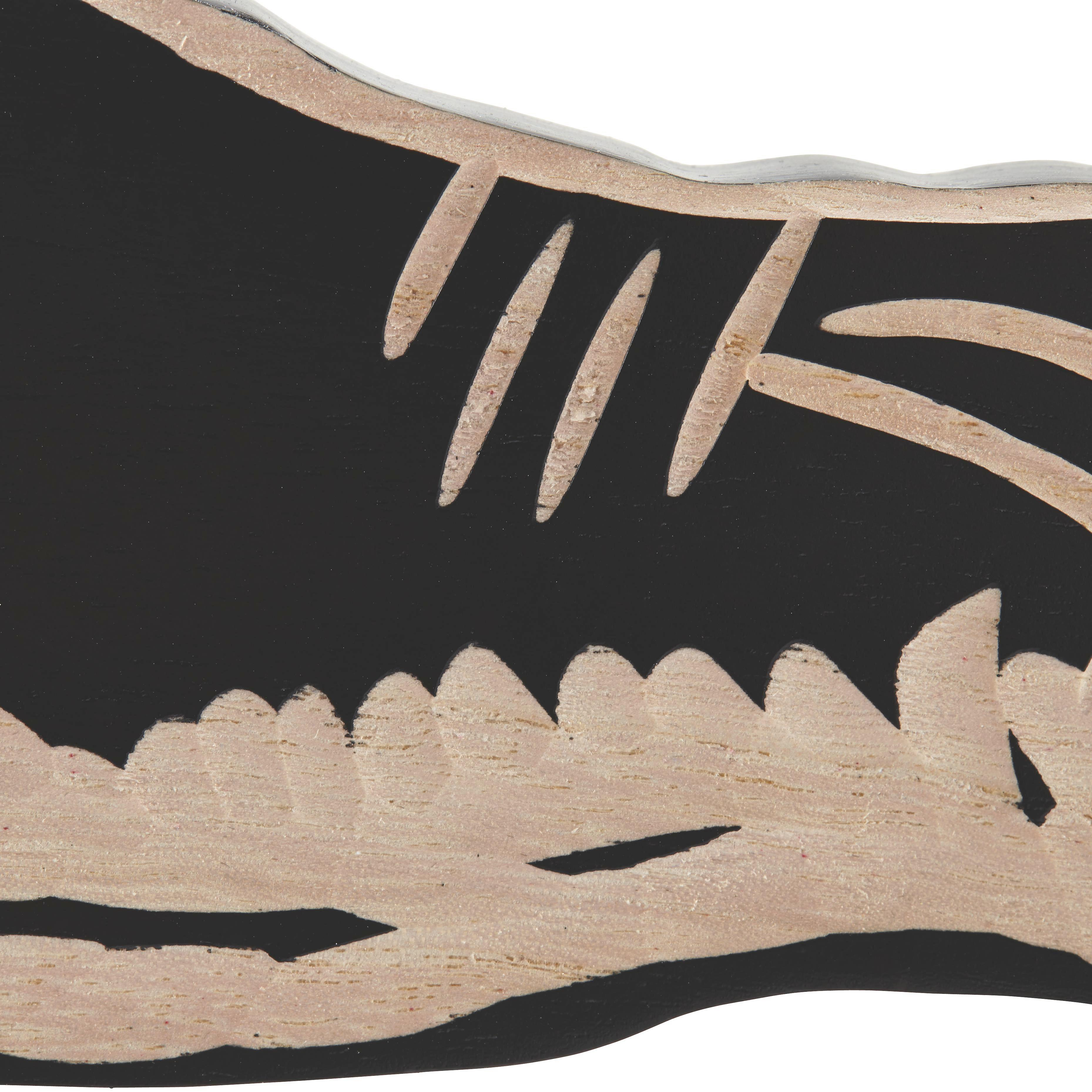 Dekoelefant Dumbo - Schwarz/Naturfarben, MODERN, Holz/Holzwerkstoff (149/15/114cm) - PREMIUM LIVING