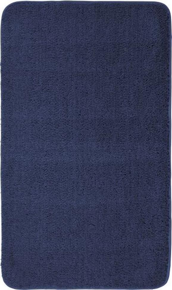 Fürdőszobaszőnyeg Christina - Kék, Textil (70/120cm) - Mömax modern living