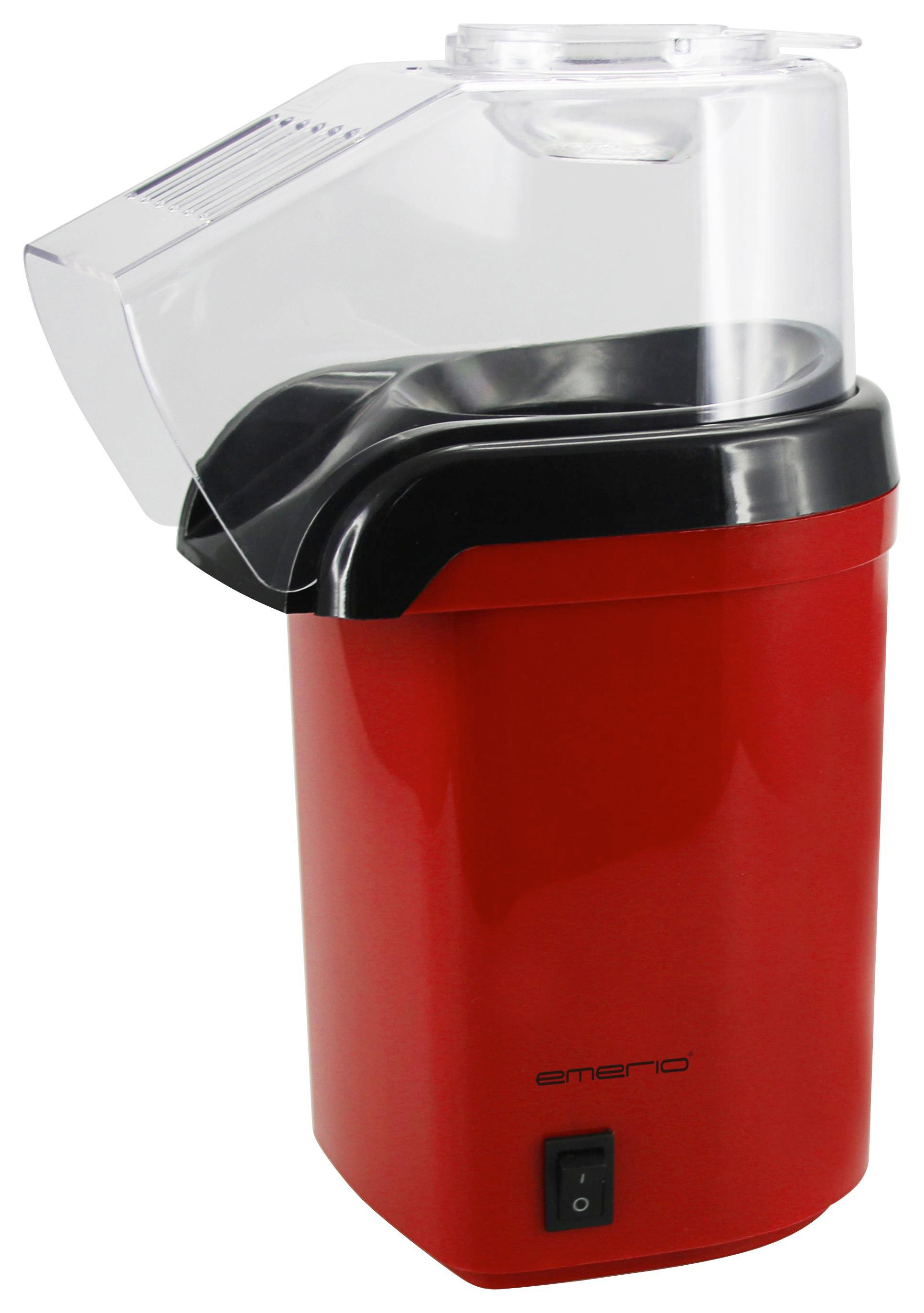 Popcornmaschine Jan, Max. 1200 Watt - Rot/Schwarz, Kunststoff (13/27,5/19cm)