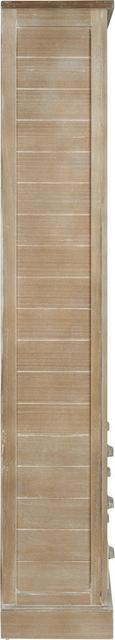 Regal Savannah Antik - Kieferfarben, Holz/Metall (87/180/32cm) - Premium Living