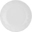 Farfurie Adâncă Pauline - alb, Romantik / Landhaus, ceramică (25cm) - Zandiara