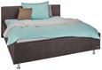 Polsterbett Anthrazit 180x200cm - Anthrazit, KONVENTIONELL, Kunststoff/Textil (198/50/95/216cm) - Premium Living