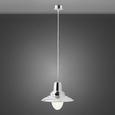 Hängeleuchte Henri - Nickelfarben, Glas/Metall (29/24,5cm) - Mömax modern living