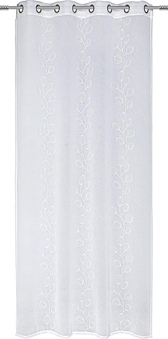 Készfüggöny Ivanka - Fehér, modern, Textil (140/245cm) - Mömax modern living