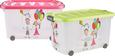 Škatla Za Shranjevanje Kiddys - zelena/prosojna, umetna masa (60/38/32cm)
