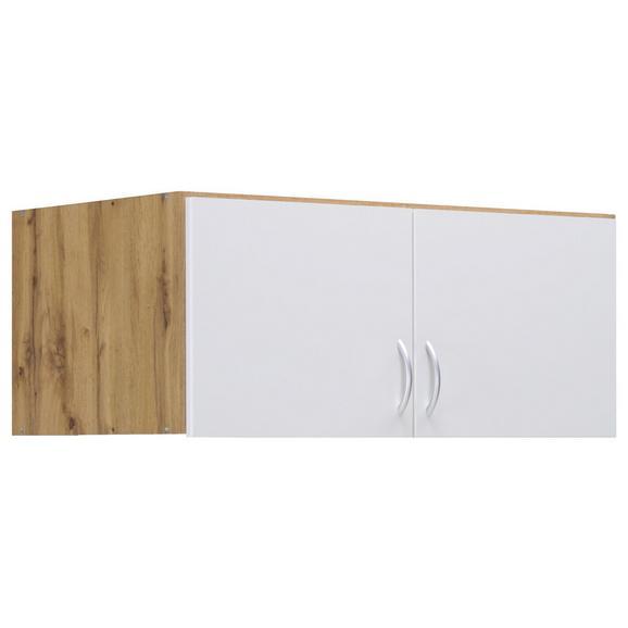 Nastavek Za Omaro Case - aluminij/hrast, Moderno, umetna masa/leseni material (91/39/54cm) - Modern Living