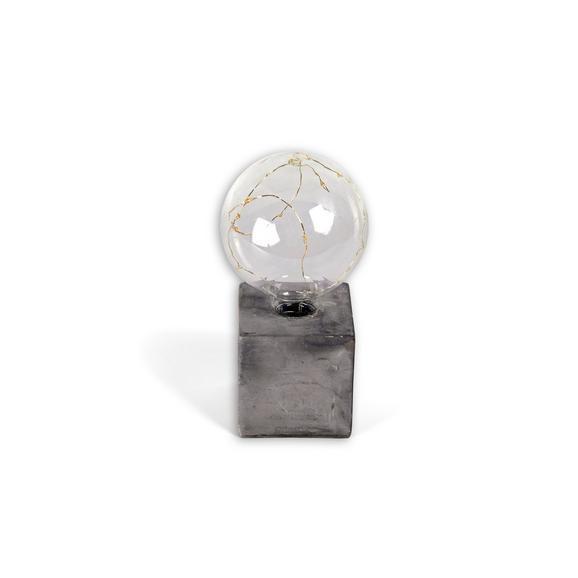 Okrasna Led-svetilka Urban - siva, kamen/kovina (10/10/19,5cm) - Mömax modern living