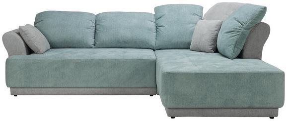 Sedežna Garnitura Pure - meta zelena/siva, Moderno, tekstil (293/100/107cm) - MODERN LIVING