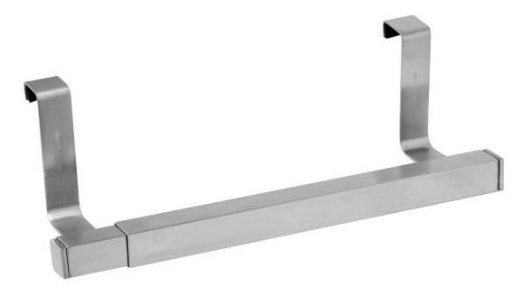 Handtuchhalter in Edelstahlfarben - Edelstahlfarben, Metall (25-41cm) - MÖMAX modern living