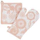 Edényfogó Ruha És -kesztyű Lovely - Natúr/Rózsaszín, romantikus/Landhaus, Textil (18/32cm) - Mömax modern living