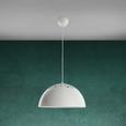 Pendelleuchte Marit - Weiß, MODERN, Metall (40/120cm) - Modern Living