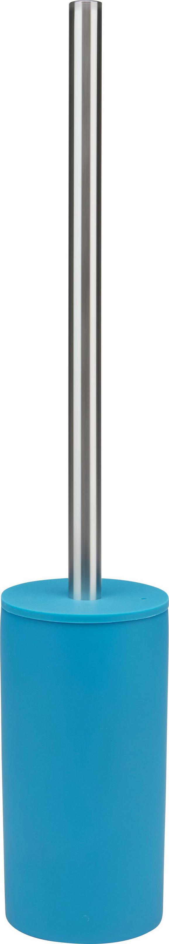 WC-Bürste Melanie in Petrol - Petrol, KONVENTIONELL, Kunststoff/Metall (8/45cm) - Mömax modern living