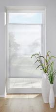 Plissee Free Weiß, 100x130cm - Weiß, Textil (100/130cm) - Premium Living
