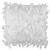 Zierkissen Fancy in Weiß ca. 40x40cm - Weiß, MODERN, Textil (40/40cm) - Mömax modern living