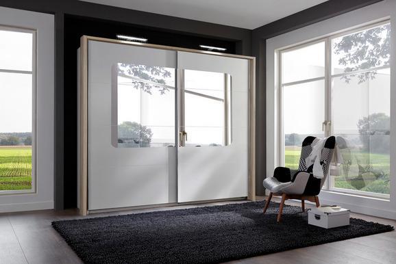 Díszkeret Bergen - tölgy színű, modern, fa/faanyagok (228/210/12cm)