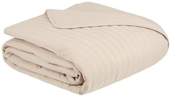 Tagesdecke Ultra Grau 230x230cm - Beige, Textil (230/230cm) - Mömax modern living