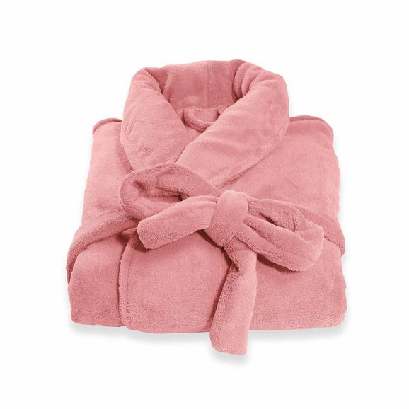 Kopalni Plašč Supersoft - pastelno roza, tekstil (XS-L) - Mömax modern living