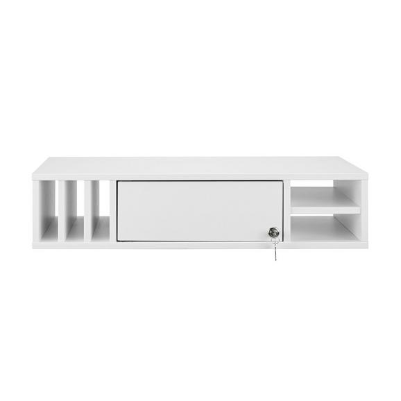 Regaleinsatz Weiß - Weiß, MODERN, Holzwerkstoff (76/17,1/36,7cm) - Mömax modern living