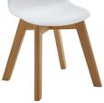 Kinderstuhl Julie - Buchefarben/Weiß, MODERN, Holz/Kunststoff (30,5/56,5/39,5cm) - Mömax modern living
