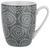 Kaffeebecher Nina aus Porzellan ca. 340ml - Grau, Keramik (8,5/10cm) - Mömax modern living