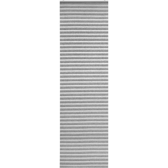 Panelna Zavesa Flow - siva, Moderno, tekstil (60/245cm) - Mömax modern living