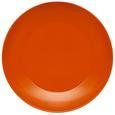 Speiseteller Sandy in Orange aus Keramik - Orange, KONVENTIONELL, Keramik (26,8/2,42cm) - Mömax modern living