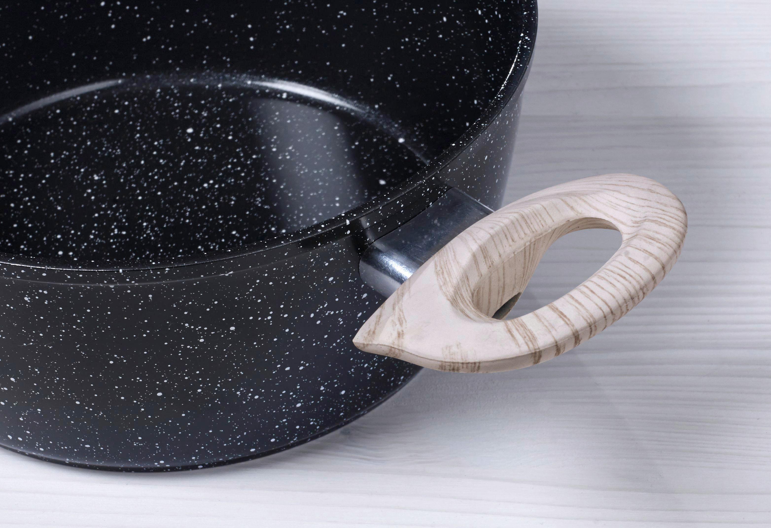 Set Posod Graham - črna, Trendi, kovina/steklo (37/25,5/34cm) - ZANDIARA