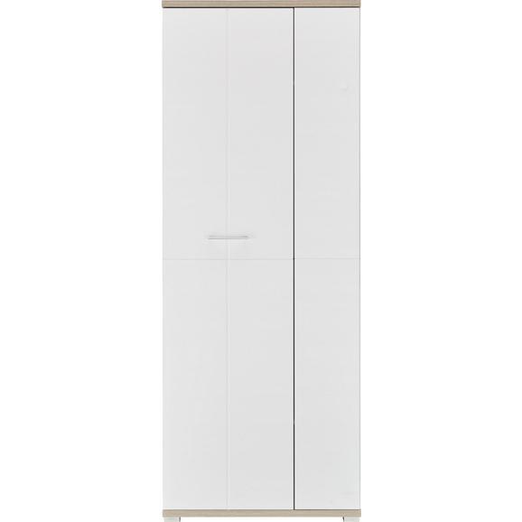 Garderobenschrank Weiß/Silbereiche online kaufen ➤ mömax