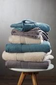 Handtuch Silvia Grau - Grau, Textil (50/100cm) - Modern Living