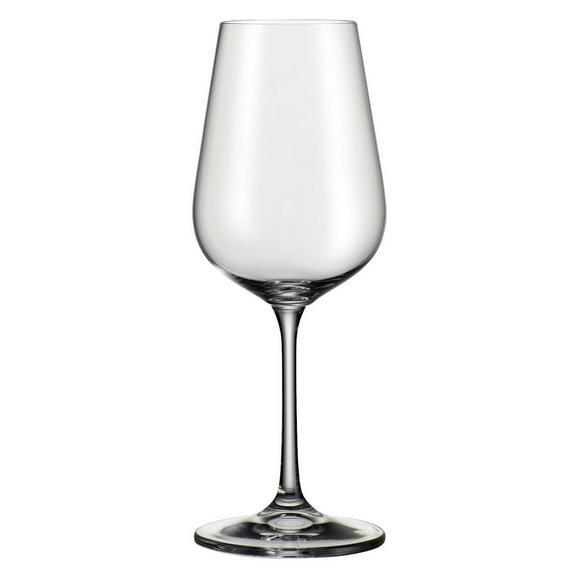 Kozarec Za Belo Vino Norma - prozorna, Moderno, steklo (0,36l) - Bohemia