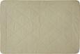 Steppdecke Schafwoll, ca. 135x200cm - Beige, Textil (135/200cm) - Nadana