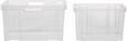 Stapelbox Kunststoff - Transparent, Basics, Kunststoff (43/23/35cm)
